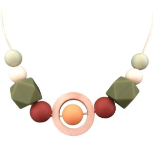 silicone breastfeeding necklace