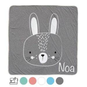 personalized baby blanket lullaby