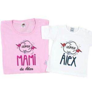 camisetas mamá hijo