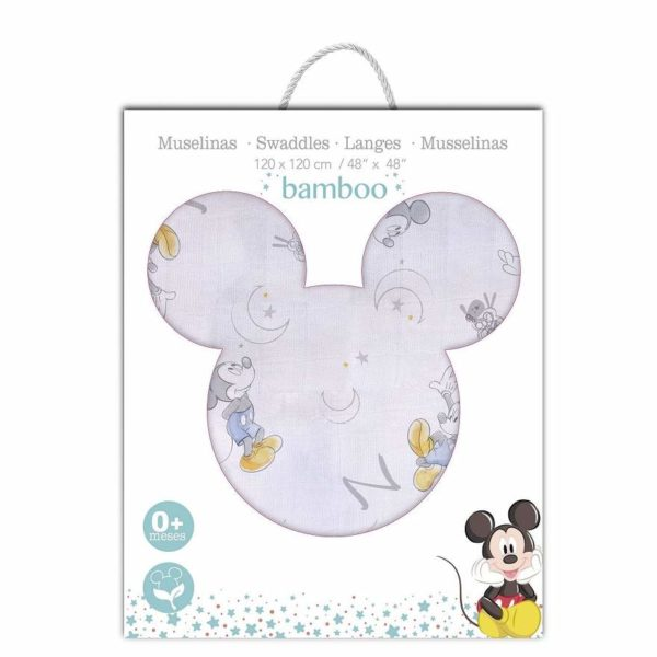 embroidered mickey muslin