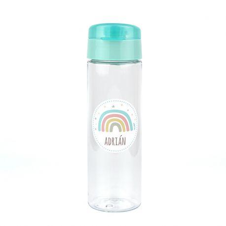 botella arcoíris personalizada